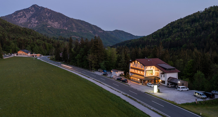 3* Hotel Obermayr in der Nähe von Salzburg im Salzkammergut