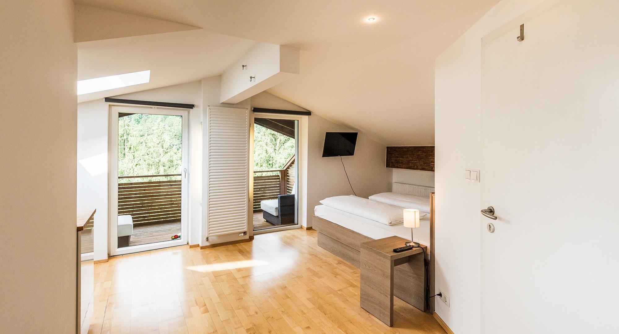 Die gemütlichen Hotelzimmer im Salzkammergut vom 3* Hotel Obermayr