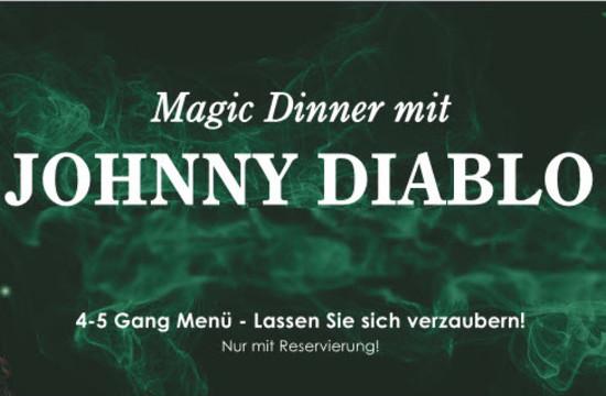 Teaser zum Magic Dinner im Gasthaus für Firmenfeiern bei Salzburg
