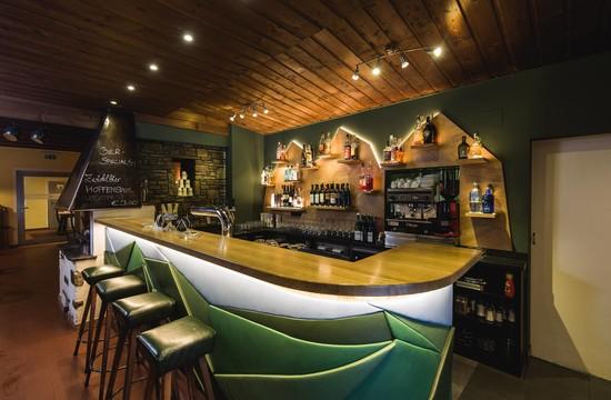 Die Bar im Gasthaus Obermayr