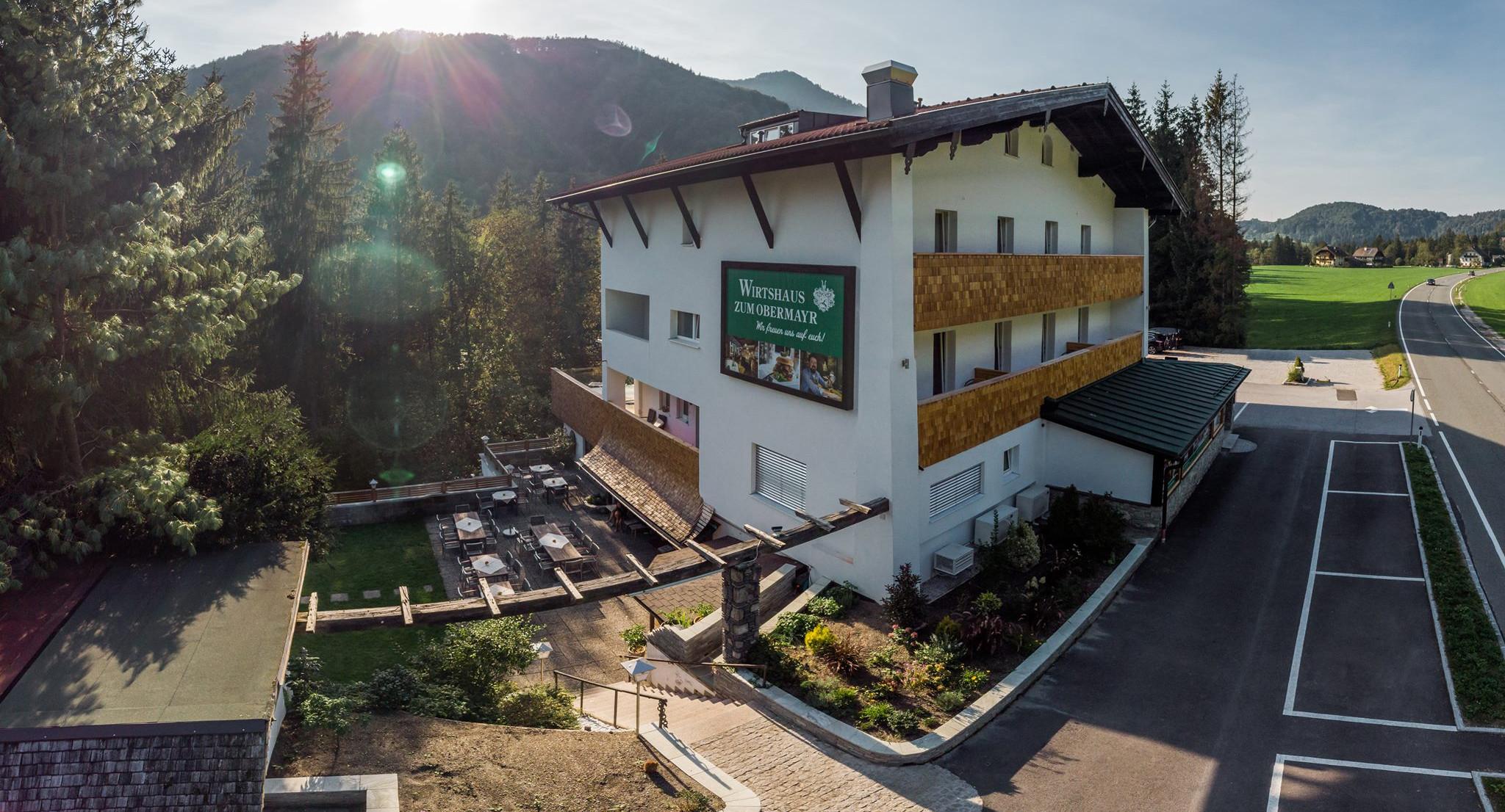 Außenansicht vom Hotel Obermayr